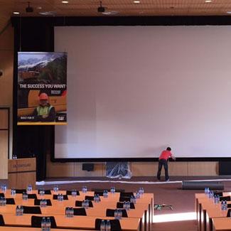 limpieza pantallas imax con 8 años de garantía Mondolimp