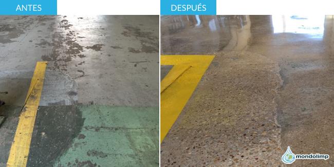 Reparación suelos hormigón