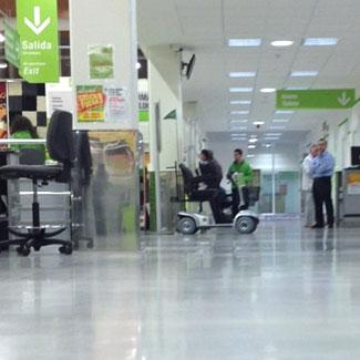 Limpieza centros comerciales