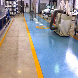 suelos epoxi para pavimentos sin juntas para almacenes, talleres o naves industriales