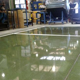 Acabado del pulido en pavimentos industriales