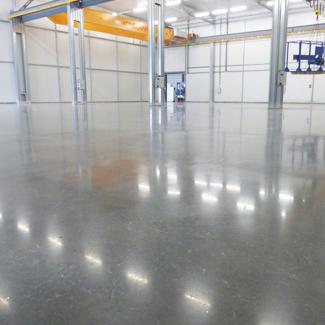 Pulido en suelos industriales con Mondotec3 System
