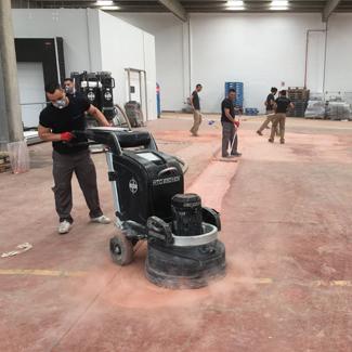Pulidora para suelos industriales de Mondolimp