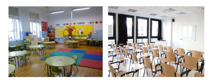 limpieza centro educativo