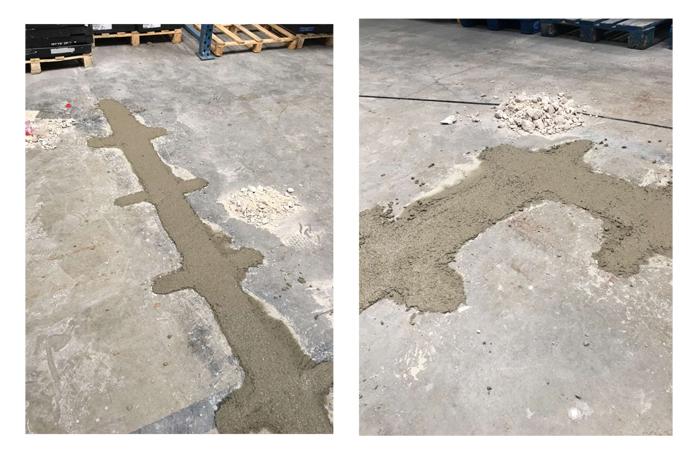 reparación fisuras en pavimento de hormigón