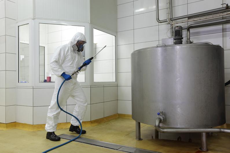 Plan de limpieza y desinfección (PLD) en la industria alimentaria