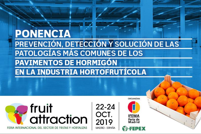 El sector hortofrutícola reconoce la experiencia de Mondolimp en el tratamiento de pavimentos industriales