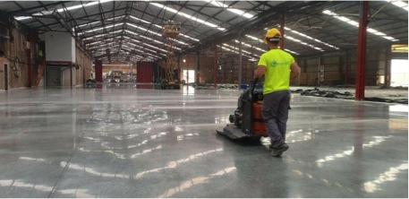 Pavimentos industriales con Mondotec3 System