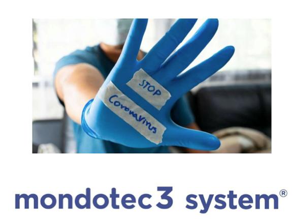 STOP Coronavirus con Mondotec3 System